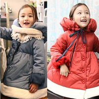 Child clothing female baby winter 2013 spring overcoat cotton-padded jacket wadded jacket outerwear z