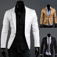Shipping Free 2012 Fall CHIC Mens Luxury Shoulder Tarker Slim Short Trench Jacket Coat X11