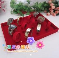 12 black velvet bracelet set watch display tray bracelet jewelry holder display rack accessories rack
