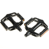 1 Pair Paint Colour Aluminum Alloy Foot Tread Cycling Bicycle Pedal With Cleats L0286