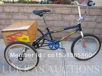 Custom GT Pro Series BMX  3-WHEELER BIKE BICYCLE