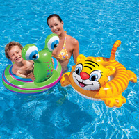 Intex snail tiger style child swim ring baby inflatable seat ring floating ring
