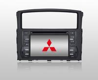 Mitsubishi Pajero DVD GPS Touch Screen High Resolution LCD TFT;VCD/SVCD/CD/MP3/MP4/USB/SD-CARD/ MPEG4/HD CD/CD-R