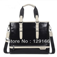 Free shipping 2013 leisure tide male handbags leather men's bags, hand bag, business bag briefcase
