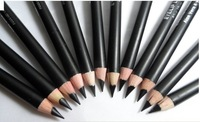 Free Shipping!12pcs/set Brand Waterproof Liquid Eye Liner Black Eyeliner Pencil Makeup Pen