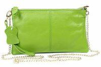 Clutch bag female 2013 fashion simple fashion genuine leather bag handle one shoulder cross-body black