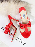 Gledes fashion shoes flip-flop slippers flip flops high thin heels