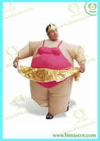 HI ballerina Inflatable Costume Adult Fancy Dress Suit Party