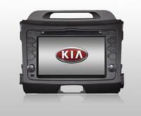 Kia Sportage R DVD GPS Touch Screen High Resolution LCD TFT;VCD/SVCD/CD/MP3/MP4/USB/SD-CARD/ MPEG4/HD CD/CD-R