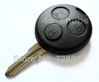 No Chip Replacement Uncut Blank Blade Key Case Shell Fit For Mercedes Benz SMART Fortwo 3 Buttons Free Shipping