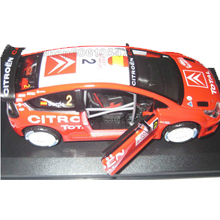 Alloy car model citroen rs wrc automobile race car free shipping