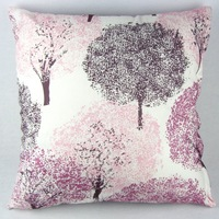 "Sakura Trees Throw Pillow Case Decor Cushion Cover PI33  20"" 50cm Squar Pink"