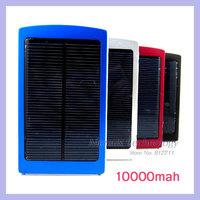 Solar Energy 10000mAh Universal Mobile Phone Power Charger