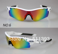 2012 Radar Lock Path Bicycle Bike sunglasses ride sunglasses sports sunglasses cycling sunglasses with 5pairs lens