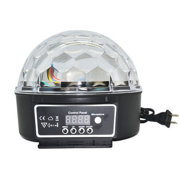 New DMX 512 LED Disco DJ Magic Ball Light Party RGB Laser Staging Light