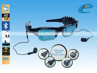 NEW fashion cool sunglasses MP3 Player + HD 12MP Camera Video + bluetooth sunglasses