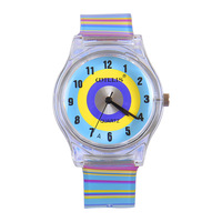 Child table girl fashion resin waterproof female child watch 7811