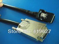 Mini sas 34P SFF-8470 TO SFF-8087 INFINIBAND TO MINI SAS 36P CABLE 3FT 1M