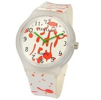 Willis fashion watch ladies watch rainbow table jelly table resin waterproof watch