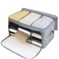 free shipping Storage - high ka cirque du soleil quality bamboo series visual sweater storage box 0.43