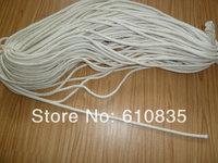 Taping cotton 0.8cm cotton handle diy bag white cotton rope taping hardiron diy accessories