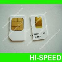 latest version sim card 2.10 for 800hd 5pcs a lot