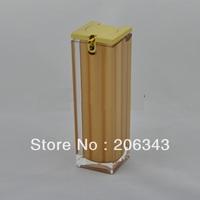 30ml square acrylic  press pump lotion.emusion bottle,cosmetic container,press pump bottle ,Cosmetic bottle
