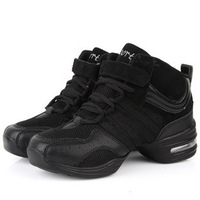Summer dance shoes female breathable casual sports fitness elevator modern dance shoes single shoes