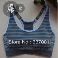 New JACKGINA double adjustable straps professional sports yoga bra sports vest