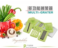 Hot sale multi-function shredder high quality kitchen grater fruits and vegetables  peel  shred  kitchenware tool