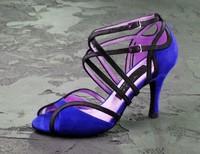 Customize scrub velvet women's Latin dance shoes dance shoes dance shoes
