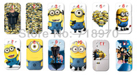 hot New 12pcs/lots wholesale Despicable Me hard white case cover for samsung s3/I9300 + free shipping