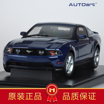 Aotuo FORD gt 2010 ford mustang model car blue