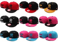 free shipping Ymcmb  button baseball cap casual hiphop hip-hop cap ny flat along the cap hiphop cap ny female and male hat