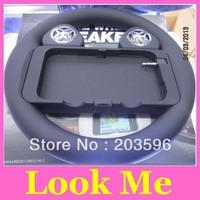 Free shipping hot sale game wheel speaker Game Racing Steering Wheel Speaker for iphone 5