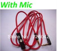 A++++ 3.5mm connect wire replacement cable with control talk for Solo HD Headphone Free Shipping DHL