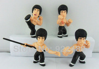 """Free shipping New 4X 3.5"""" Bruce Lee Enter the Dragon Figure S3"""