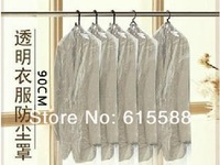 Drop Shipping 500 Pcs/lot Home Incorporating Dust Bag Transparent Dust Cover Suits Best Clothes Cover Dry Cleaners Free Shipping