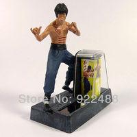 "Free shipping Figure set 4"" Bruce Lee Enter the Dragon Solar power Set"