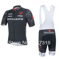 Free Shipping! New Hot 2013 BONTRAGER Cycling Jersey Short Sleeve and Cycling bib  Shorts ropa ciclismo maillot