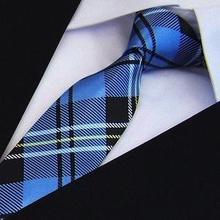 party mens tie fashion scarf plaid neckties plaid ties for men(China (Mainland))