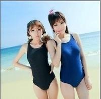 Women's trigonometric one piece swimwear spa swimwear porter 1002  FREE SHIPPING