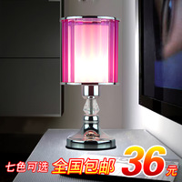 Multi-colored fashion brief modern home decoration table lamp small night light ofhead gift w02