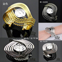 Promotion!2013 new Fashion crystal Men and women quartz wrist dress watch wholesale free shipping