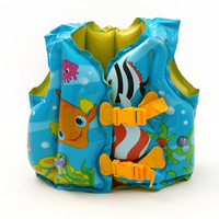 Intex child life vest swimming vest baby young children inflatable vest baby swimwear vest