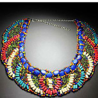2013(mix order) Min order 10usd !Handmade 100% collar necklace choker Bead necklace jewelry wholesale free shipping
