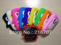 For Samsung Galaxy Mini S5570 silicone, 3D Penguin Silicone Case Cover for Samsung Galaxy Mini S5570 Free shipping