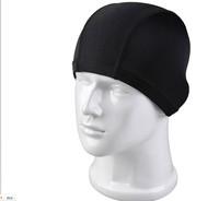 free shipping Swimming cap male women's cloth swimming cap chromophous female sunscreen