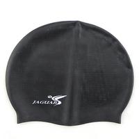 free shipping Jiejia professional swimming cap granule slip-resistant silica gel cap ultra soft plus size swimming cap fsc