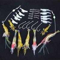 Free shipping, 1.5g/3.5g/7g shrimp, Lure set shrimp fishing lure